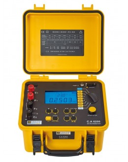 CA6250 - Micro-ohmmeter - Chauvin Arnoux
