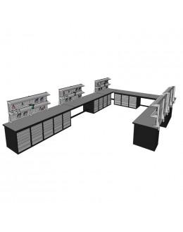 LGS Mobilier - mobiliers techniques - établis industriels