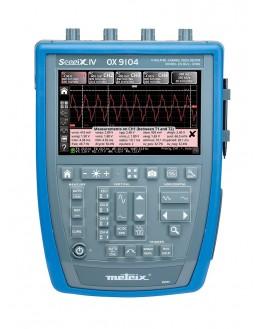 OX7104 - Oscilloscope numérique 4x100Mhz 2,5Géch/s écran couleur - METRIX
