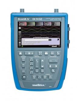 OX9102 - Oscilloscope numérique 2x100Mhz 2,5Géch/s écran couleur - METRIX - remplace OX7102