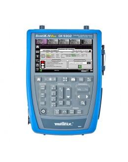 OX7104BCK - Digital oscilloscope 4x100Mhz 2.5 GS / s color screen, ethernet + software + bag - METRIX