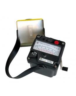 Contrôleur d'isolement analogique à magnéto 250, 500, 1000VDC - CHAUVIN ARNOUX - CA6503 - P01132504 - remplace IMEG 500