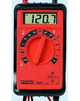 DM7 - Multimètre numérique Portable 600 V - METERMAN