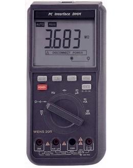 33N - Multimètre numérique avec fonction oscilloscope - WENS