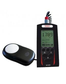 Luxmètre numérique de 0 à 9999 lux - kimo - 24384 - LXS