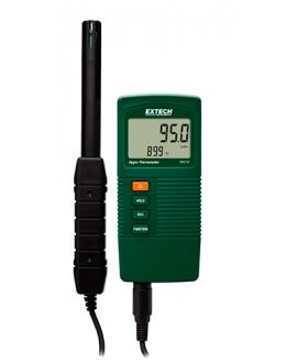 thermo-hygromètre 95%HR portable avec sonde déportée Extech RH210