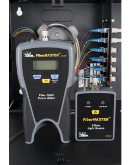 33-931 - FiberMASTER - Kit de Photométrie avec source multi/mono et Photomètre multi/mono/FTTX - IDEAL NETWORKS