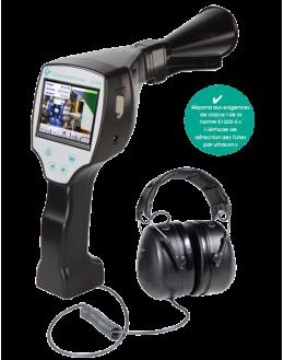 Kit LD510 - Détecteur de fuite par ultrason avec caméra et une entrée pour capteur externe - CS INSTRUMENTS