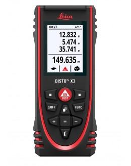 Lasermètre, Télémètre laser DISTO X3 0,05 jusqu'à 150 m - LEICA