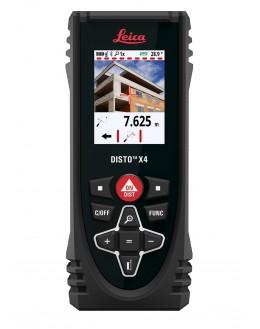 Télémètre laser - lasermètre DISTO X4 0,05 jusqu'à 150 m - LEICA