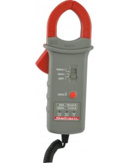 SP260B - Pince ampéremétrique 600A AC/DC Sortie 1mV/A et 10mV/A - SEFRAM