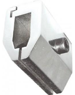 AC 02 Tête sphérique en acier inoxidable pour tests de compression et de rupture jusqu'à 5 kN - pour dynamomètre