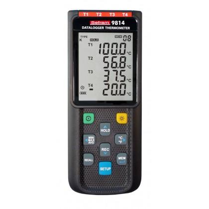 SEFRAM 9814 - Thermomètre numérique enregistreur (4 voies) - SEFRAM