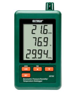 Enregistreur Pression atmosphérique temperature humidite - SD700 - EXTECH