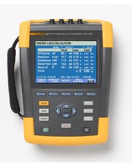 FLUKE 435-II - Energimètre analyseur de réseau électriqueFLUKE 435-II - Energimètre analyseur de réseau électriqueFLUKE 43