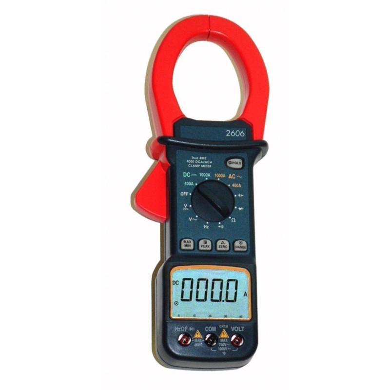 DT266 1000V Pince Multim/ètre 750V DC//AC 200 1000A Multim/ètre Num/érique Amp/èrem/ètre avec /Écran LCD