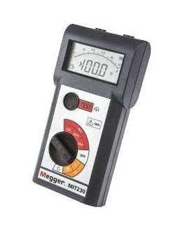 MIT230 - DIGITAL MegOhmMeter 250/500/1000V - MEGGERMIT230 - DIGITAL MegOhmMeter 250/500/1000V - MEGGERMIT230 - DIGITAL MegOhmMet