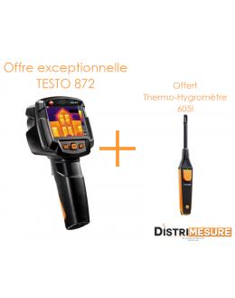Pack promo Thermographie - Caméra Testo 872 76800 pixels - TESTO