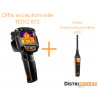 Pack promo Thermographie Testo 872 - Caméra thermique 76800 pixels et thermo-hygromètre intelligent offert - TESTO