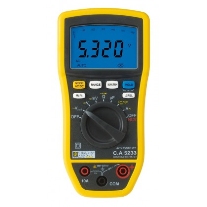 CA5233 - multimètre numérique - P01196733 - CHAUVIN ARNOUX