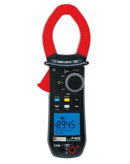 F405 Pince multimètre AC+DC TRMS 1000AAC/1500ADC