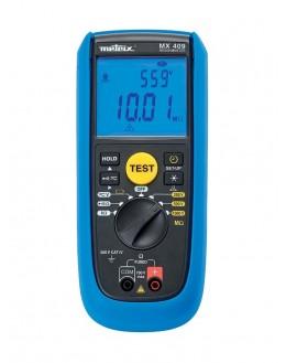 MX407 - Contrôleur d'isolement et multimètre 250 500 1000V - METRIX