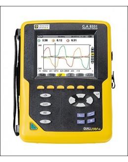 CA8331 MA193 - Analyseur de puissance et de qualité d'energie QUALISTAR et pinces de courant MA193 - CHAUVIN ARNOUX - P01160512