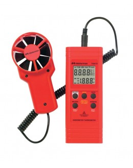 Thermo-anémomètre avec vanne de précision séparée TMA10
