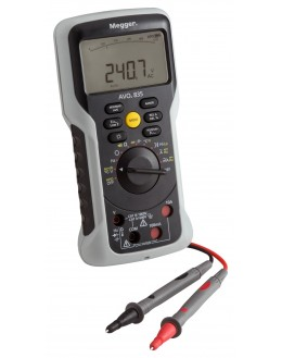 AVO835 - Multimètre TRMS AC+DC 1000V 10A - MEGGER