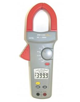 MW3380 - Pince ampèremétrique 1000 AAC et VAC/DC - SEFRAM