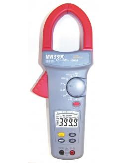 MW3390 - Pince ampèremétrique 1500 AAC/DC et VAC/DC - SEFRAM