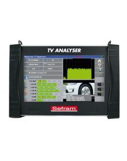 SEFRAM 78824K - Mesureur de champ multifonction avancé, HEVC H.265 décodage 4k, IPTV - SEFRAM