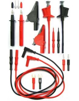 Kit de mesures 2 cordons et pointes de touches - ELECTRO PJP 414