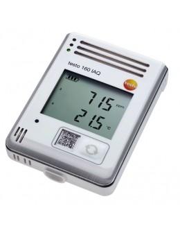 TESTO 160 IAQ - Afficheur connecté CO2, Température, hygrométrie et pression atmosphérique avec alarme