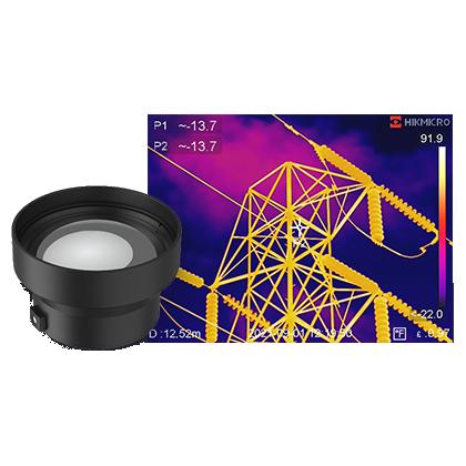 HM-G630-LENS - Objectif 3X pour caméra thermique HIK MICRO G-Series - HIK MICRO