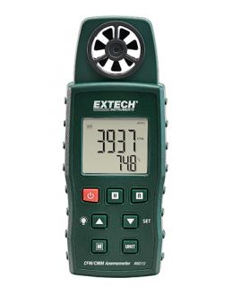 AN510 EXTECH - anémomètre 4 fonctions- vitesse et debit de l'air - température ambiance et contact - AN510