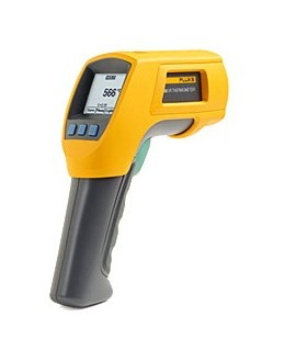 Fluke 566 - infrared thermometer and contactFluke 566 - infrared thermometer and contactFluke 566 - infrared thermometer and con