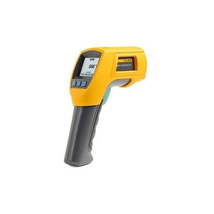 Thermomètres de contact et thermomètres infrarouges Fluke 568 et 566